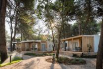 Mobilne kućice u Falkensteiner Premium Kampu Zadar u Turistčkom naselju Borik u Zadru u Hrvatskoj